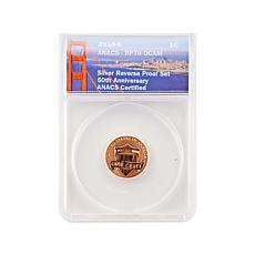 2018 RP70 Lincoln Cent San Francisco Mint 50th Anniversary Coin