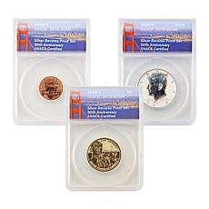 2018 RP70 S-Mint Reverse Proof 3-Coin Set