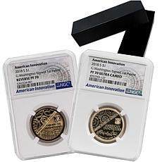 2018 S-Mint NGC American Innovation 2-Coin Set with Auto-Ship®
