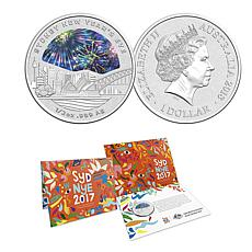 2018 Sydney New Year's Eve Limited Edition $1 Australia Silver Coin