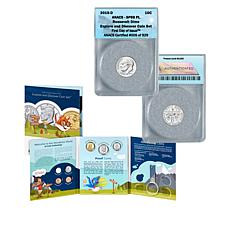 2019 Explore & Discover Set and SP69 FDOI 929 Roosevelt Dime