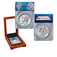 2020 SP70 FDOI LE 26 Burnished American Palladium Eagle $25 Coin
