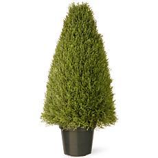 3' Artificial Topiary Juniper Tree