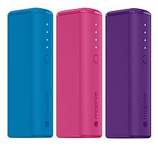 3-pack Mophie Power Banks for Phones, Tablets and Mobile Devices