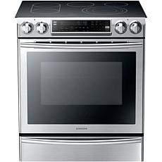 30 In. Flex Duo Slide-In Electric Range