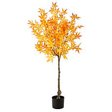 4' Autumn Maple Artificial Tree - Yellow