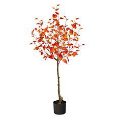 4' Fall Birch Artificial Autumn Tree