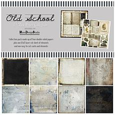 """49 And Market Collection Pack 12"""" x 12"""" - Old School"""