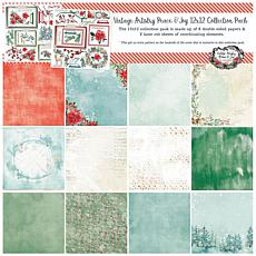 """49 And Market Collection Pack 12"""" x 12"""" - Peace and Joy"""