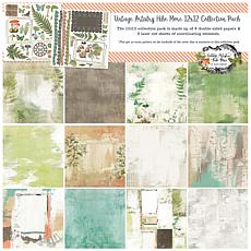 """49 And Market Collection Pack 12"""" x 12"""" - Vintage Artistry Hike More"""