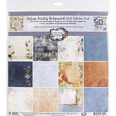 """49 And Market Collection Pack 12"""" x 12"""" - Vintage Artistry Wedgewood"""
