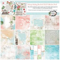 """49 And Market Collection Pack 12"""" x 12"""" - Vintage Artistry Beached"""