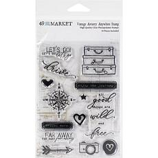 """49 And Market Collection Pack 4"""" x 6"""" - Vintage Artistry Wedgewood"""