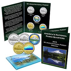 5pc 2010 National Parks Quarters - Mt. Hood, OR