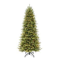6-1/2' Slim Franklin Fir Artificial Christmas Tree - 350 Clear Lights
