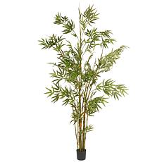 6' Artificial Potted Japanese Bamboo Tree