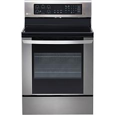 6.3 Cu. Ft. Electric Single Oven - Stainless Steel