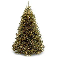 7.5 ft. Rocky Ridge Medium Pine Tree with Clear Lights