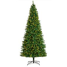 9' Green Valley Fir  Christmas Tree with 800 Clear LED