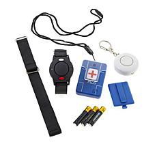 911 Help Now+ 3-pc Bundle Including Pendant, Wrist Alarm and Keychain