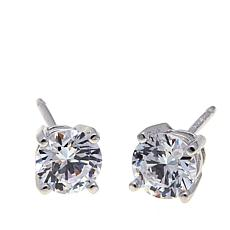Absolute™ 1ctw Cubic Zirconia 4-Prong Stud Earrings