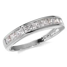 Absolute™ 1ctw Cubic Zirconia Princess Cut 14K Ring