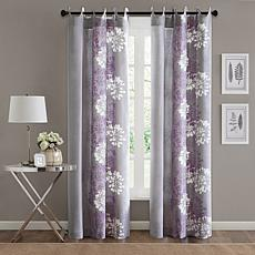 Adria Window Panel - Purple/Gray