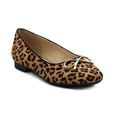Adrienne Vittadini Cavallo Haircalf or Leather Flats