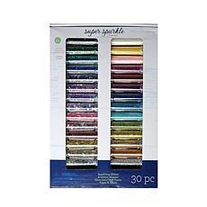 Advantus Corp Super Sparkle Glitter Kit 30-piece