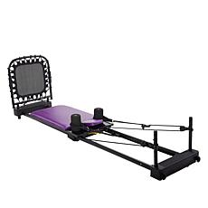 AeroPilates 4-Cord Home Studio Reformer with 5 Workout DVDs