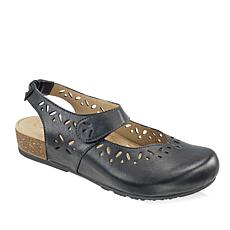 Aetrex® Cheryl Leather Mary Jane with Cork Midsole