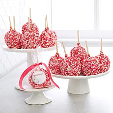 Affy Tapple 12-piece Valentine's Sprinkle Caramel Apples