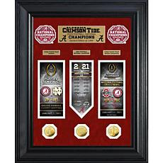 Alabama 2020/21 Football Champs Deluxe Gold Coin Road to Championship