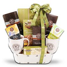 Aldercreek Coffee Bean and Tea Leaf Gift Basket