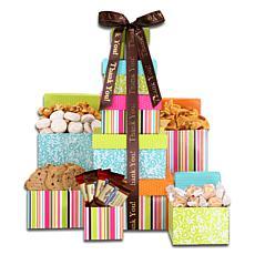 Aldercreek Thank You Treats Tower Gift Set