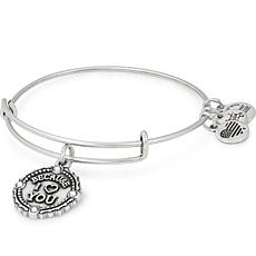 "Alex and Ani ""Because I Love You"" Adjustable Crystal Charm Bracelet"