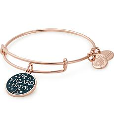 "Alex and Ani ""Yer a Wizard Harry"" Charm Expandable Bangle"