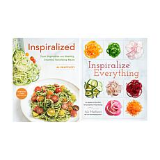 Ali Maffucci Set of 2 Handsigned Spiralizing Cookbooks
