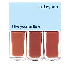 Alleyoop 3-piece Multi-Mood Lip Set