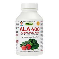 Alpha Lipoic Acid-400 - 240 Capsules