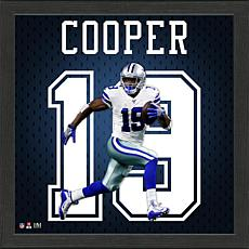 Amari Cooper Impact Jersey Framed Photo