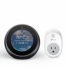 Amazon Echo Spot Voice-Command Smart Speaker with Screen and Plug