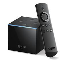 Amazon Fire TV Cube 4K UHD Voice-Command Media Streamer with Voucher