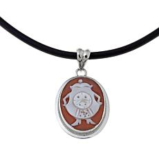 AMEDEO Disney's Beauty & the Beast Cogsworth Pendant