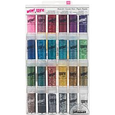 American Crafts 24-pc Wow! Glitter & Spark Tinsel Set