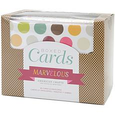 American Crafts Cards and Envelopes Set - Marvelous