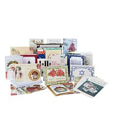American Crafts Holiday Greeting Cards with Storage Box