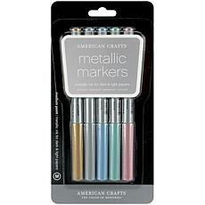 American Crafts Metallic Markers - 5-pack