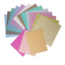 American Crafts POW Glitter Paper Pack