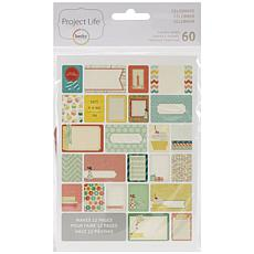 American Crafts Project Life Themed Cards 60-pack